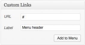 custom-link-header