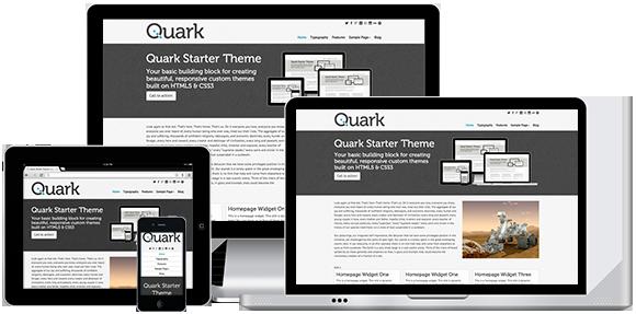Quark - A simple and elegant WordPress theme built on HTML5 & CSS3