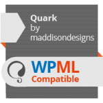 Quark Theme certificate of WPML compatibility